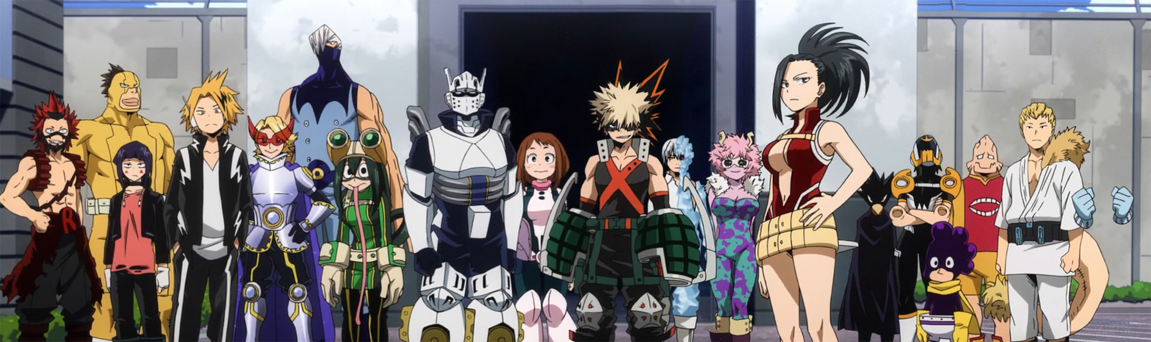 Image result for my hero academia class