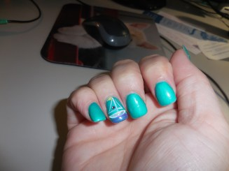 Some fun sailing nail art