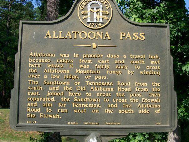 Allatoona Pass Cartersville GA