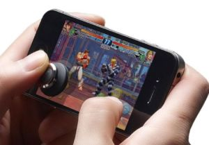 The Brick Joystick Attaches To Your Smartphone's Screen Allowing You To Play Smartphone Games Like A Pro