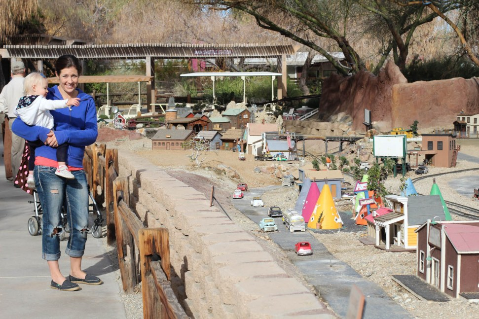Model train at the Living Desert