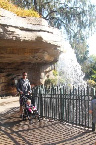 Tiger Trail, water fall