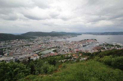 View of Bergen Norway