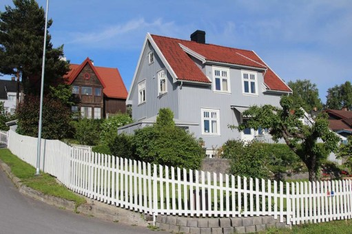 Home on the hill in Lillehammer