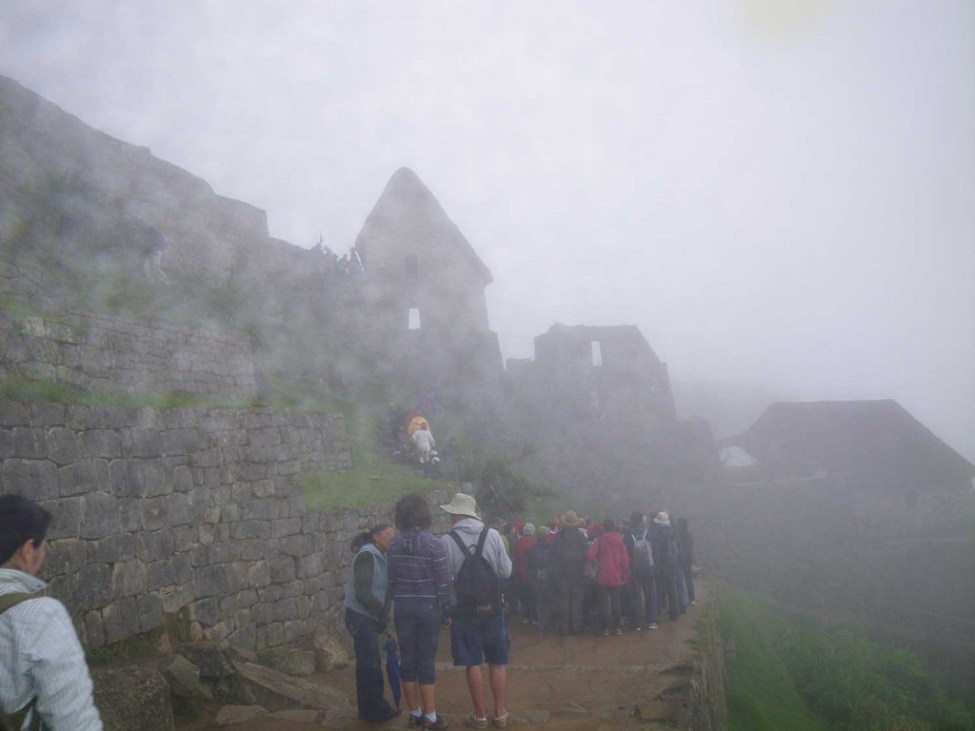 Morning Machu Picchu