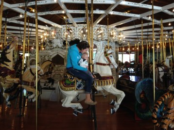 Riding the horse (Iphone)