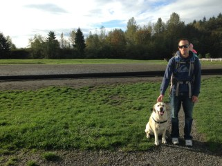 At the dog park in Seattle Wa.