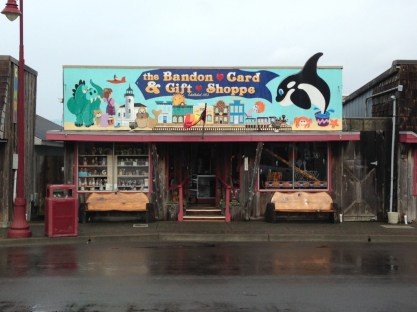 Crazy store front in Bandon
