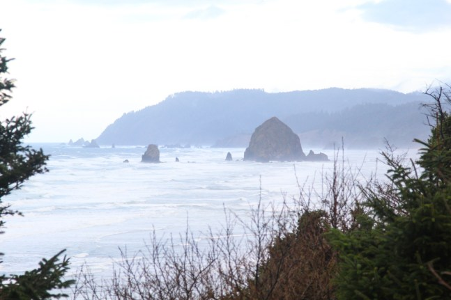 Cannon Beach rock formations