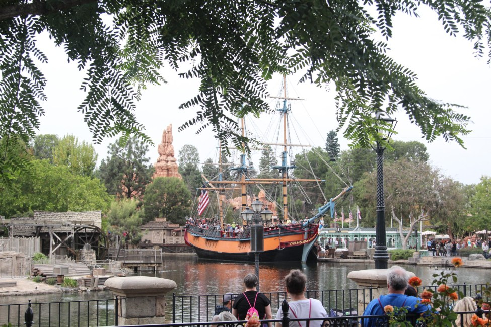 The Pirate Ship, Frontier Land.