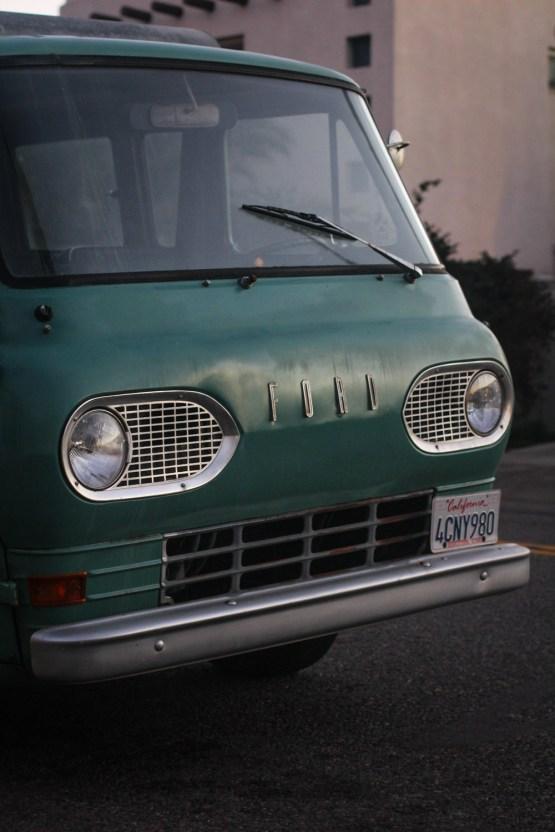 Cool Ford van