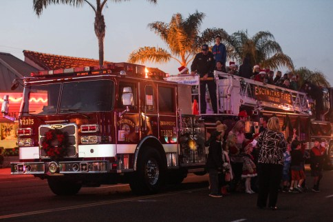 Not a parade without a firetruck.