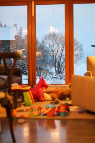 Winter wonderland out our back door