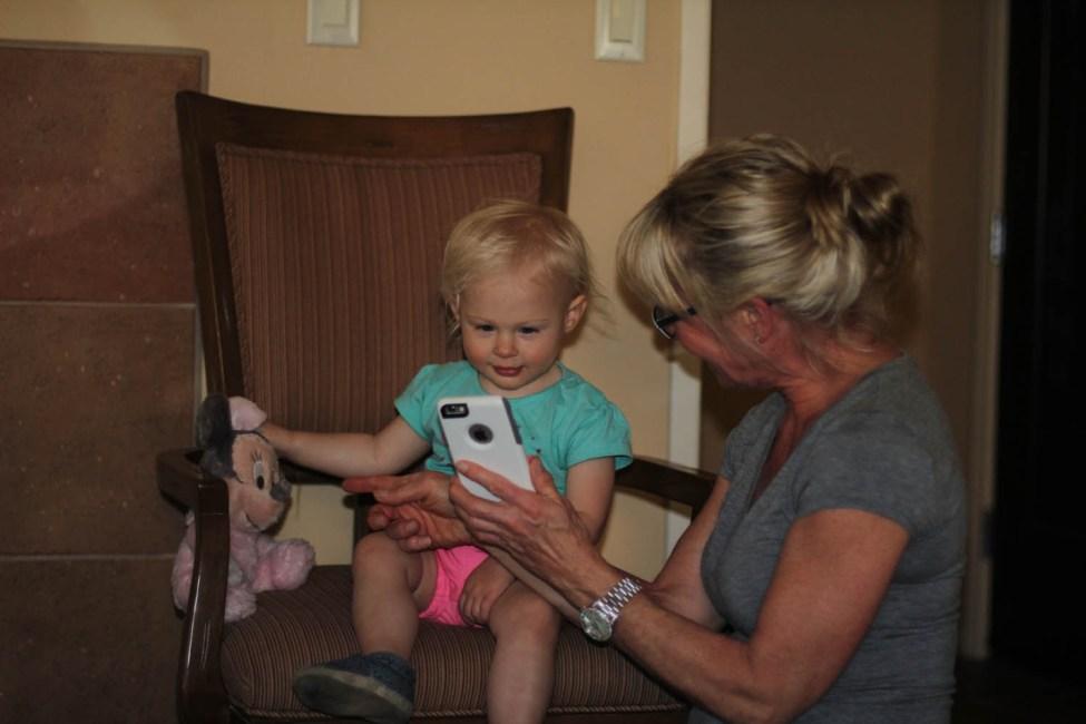 Playing with Grandma