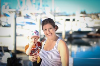 Ry and Jocelyn at the Big Boat Show - San Diego