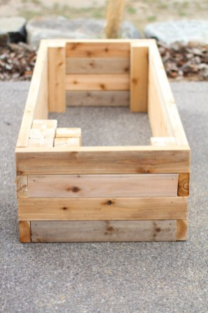 One complete vegetable box.