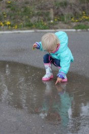 What's this. Another puddle.