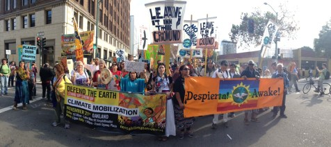 NorCal Climate Mobilization Rally, Nov 20, 2015