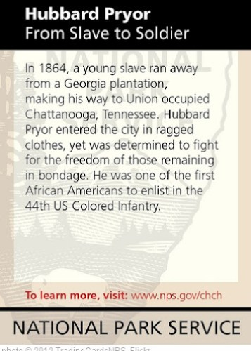 'Hubbard Pryor From Slave to Soldier' photo (c) 2012, TradingCardsNPS - license: http://creativecommons.org/licenses/by/2.0/