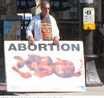 'ABORTION // Fetus & Moron' photo (c) 2010, Raquel Baranow - license: http://creativecommons.org/licenses/by/2.0/