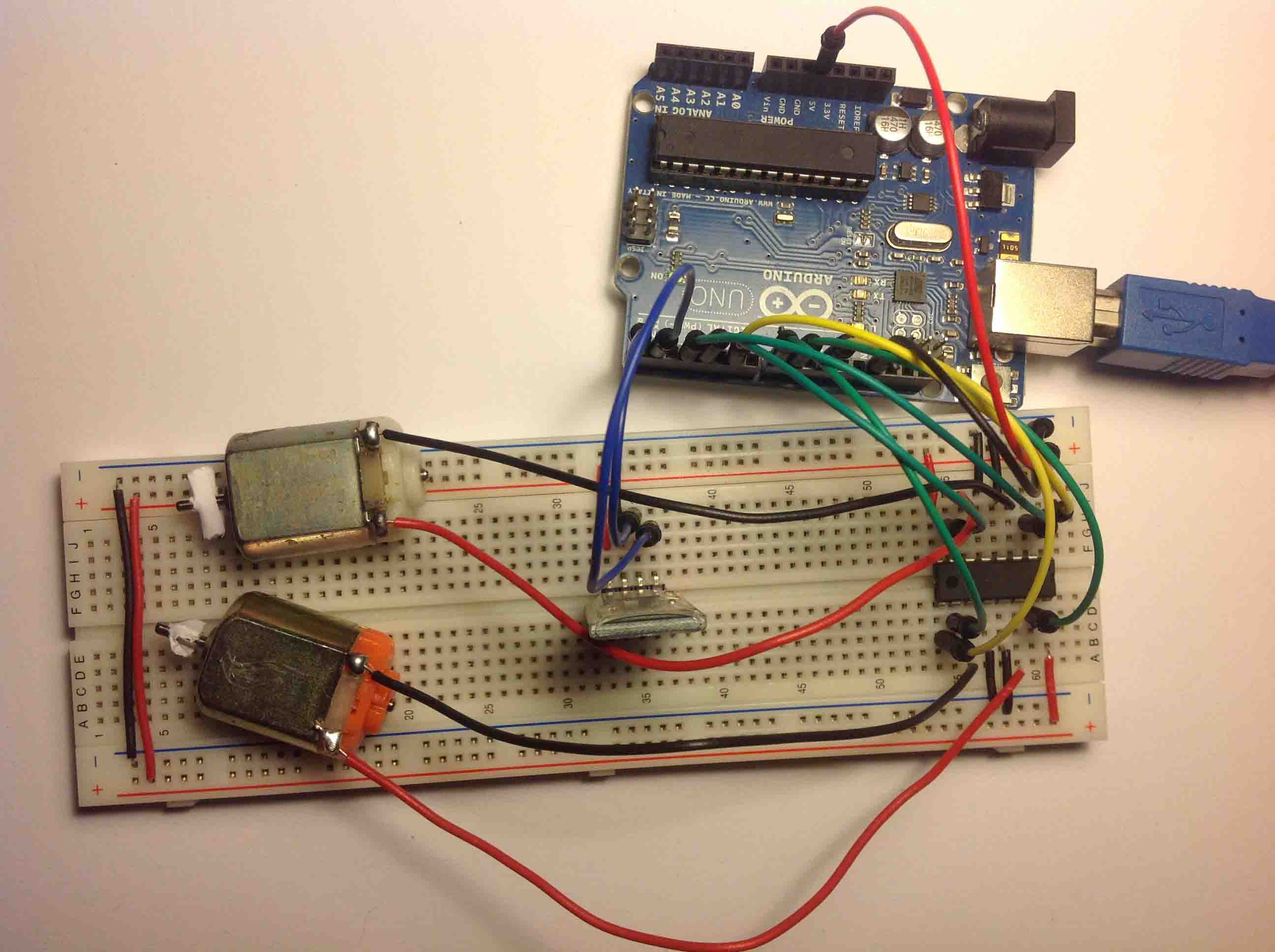 Arduino Control 2 Dc Motors Via Bluetooth Random Nerd Tutorials Wiring Motor Shield Schematics