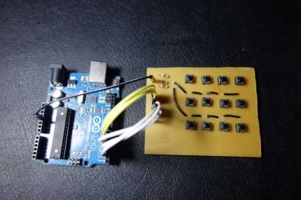 Arduino with Keypad