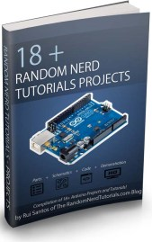 Random Nerd Tutorials - eBook cover