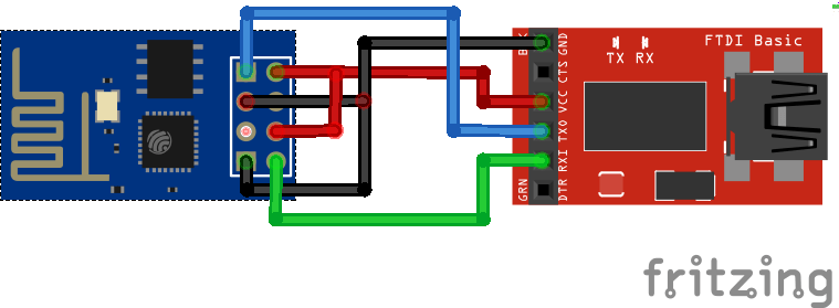 ESP8266 ESP-01 Uploading sketch with FTDI programmer Arduino IDE