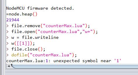 uploading counter max
