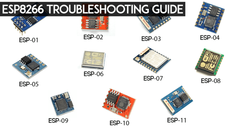ESP8266 Troubleshooting Guide | Random Nerd Tutorials