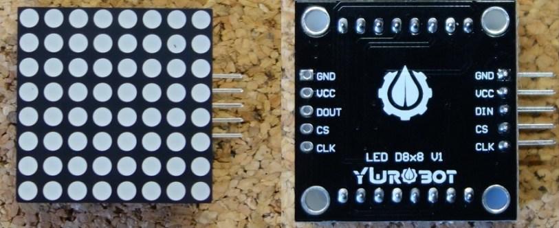 Guide for 8x8 Dot Matrix MAX7219 with Arduino | Random Nerd