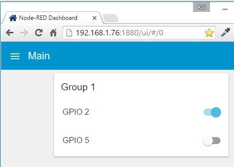 Upgrade from Node-RED-Contrib-UI to Node-RED-Dashboard | Random Nerd