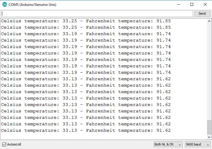 serial monitor