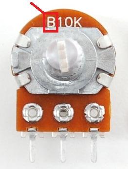 Potentiometer Linear Taper Tip B