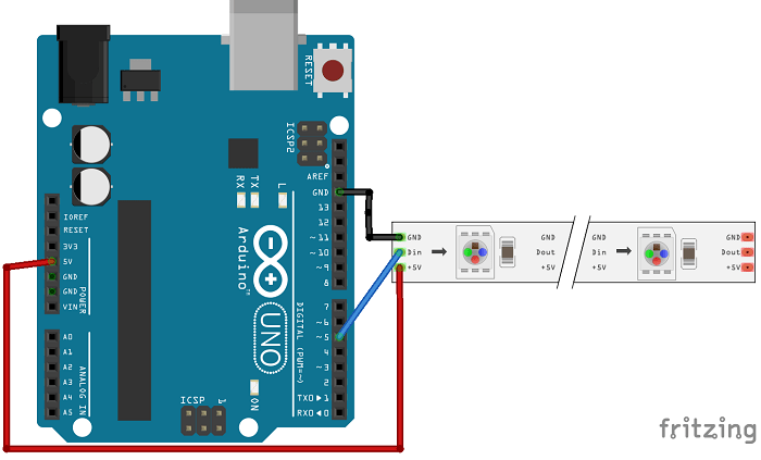 WS2812B with Arduino_bb?resize=700%2C423&ssl=1 guide for ws2812b addressable rgb led strip with arduino random WS2812B Controller at gsmx.co