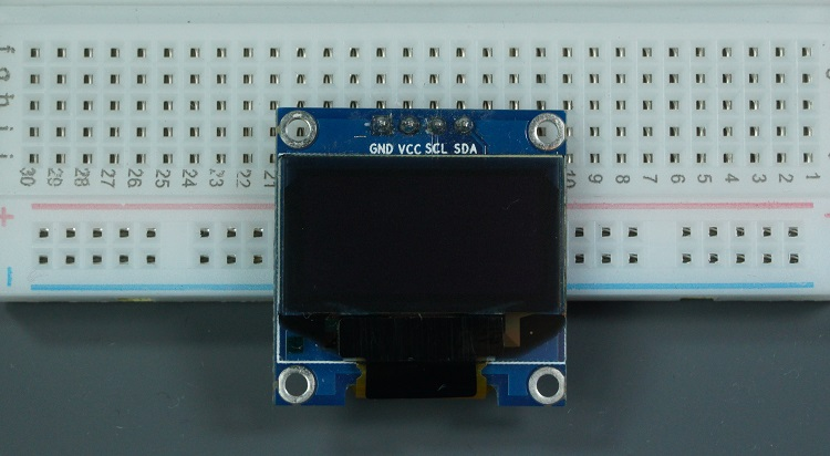 SSD1306 I2C OLED display
