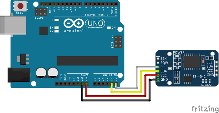 Arduino lesson – Real Time Clock (RTC) Module DS3231