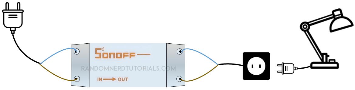 Sonoff $5 WiFi Wireless Smart Switch | Random Nerd Tutorials