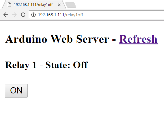 Arduino Ethernet Web Server Relay | Random Nerd Tutorials