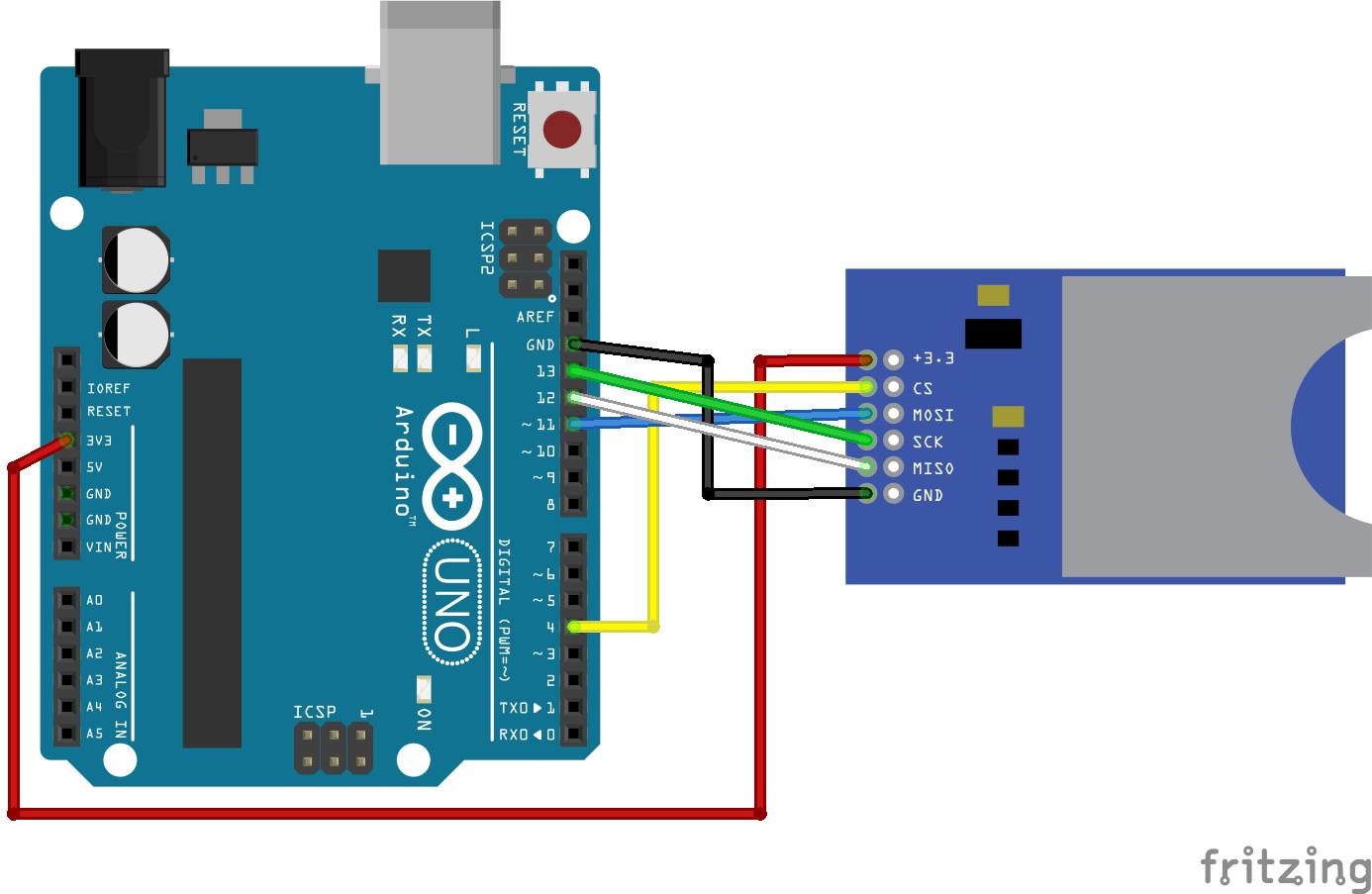 guide to sd card module with arduino random nerd tutorials rh randomnerdtutorials com arduino sd card module wiring arduino nano sd card wiring
