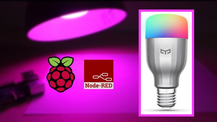 Node-RED Xiaomi Yeelight RGBW Bulb | Random Nerd Tutorials
