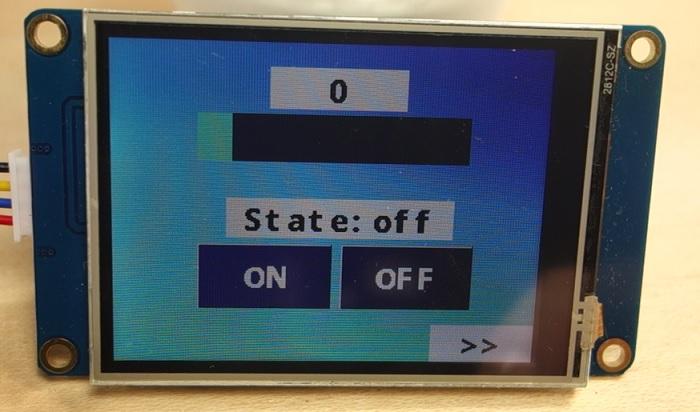Nextion Display with Arduino - Getting Started | Random Nerd