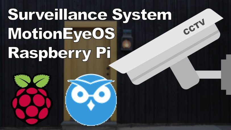 CCTV Raspberry Pi Based System with Storage using MotionEyeOS
