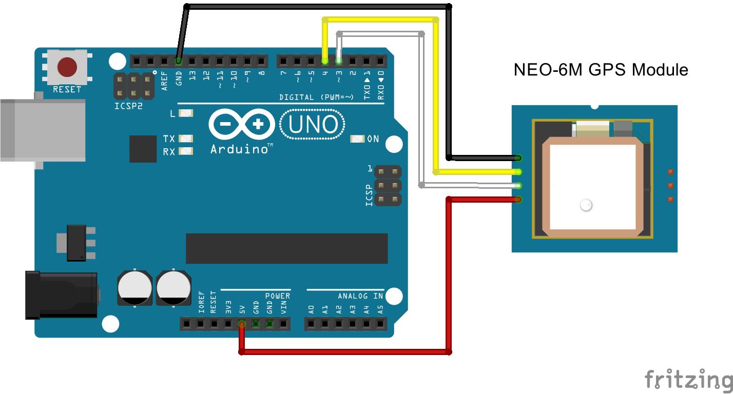 Guide to NEO6M GPS Module Arduino | Random Nerd Tutorials