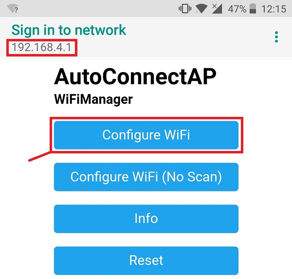 WiFiManager with ESP8266 - Autoconnect, Custom Parameter and Manage