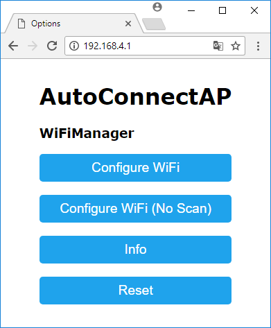WiFiManager with ESP8266 - Autoconnect, Custom Parameter and