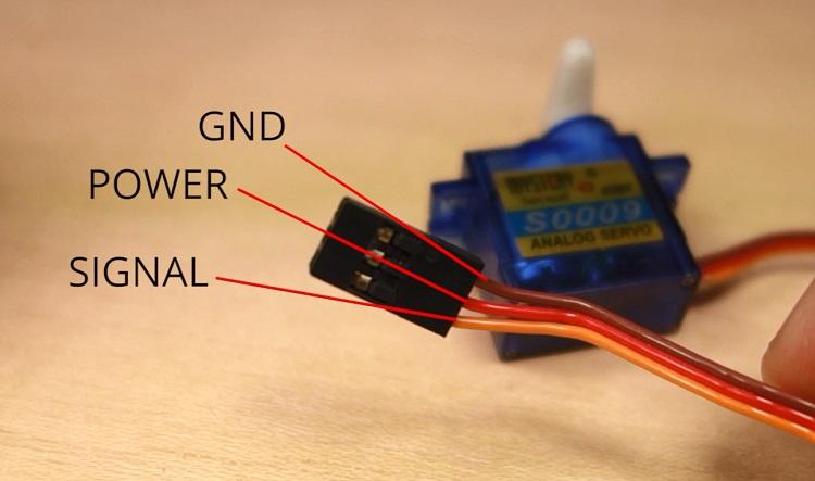 Wiring Diagram Servo Motor