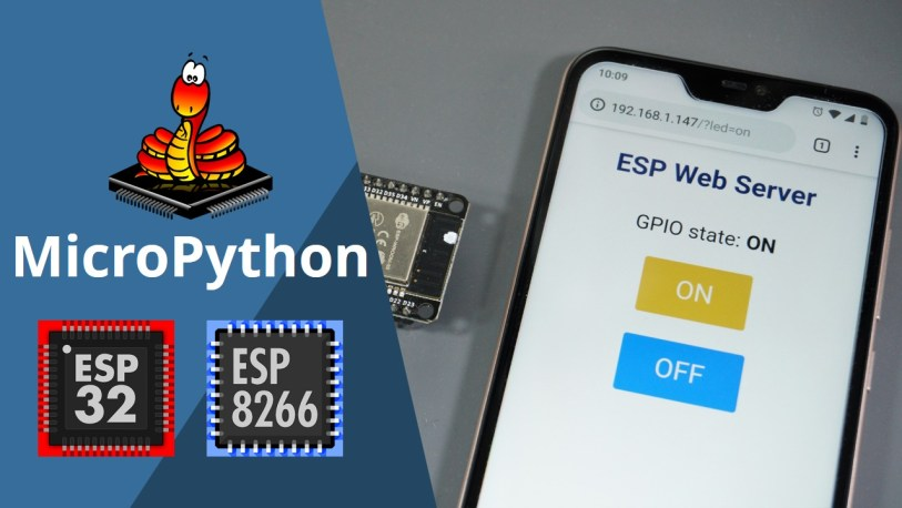 ESP32/ESP8266 MicroPython Web Server | Random Nerd Tutorials