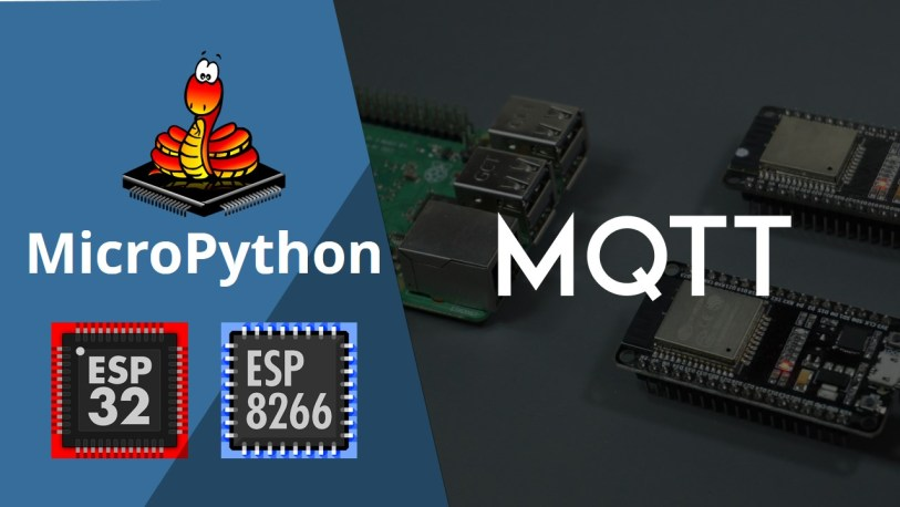 MicroPython - Getting Started with MQTT on ESP32/ESP8266 | Random