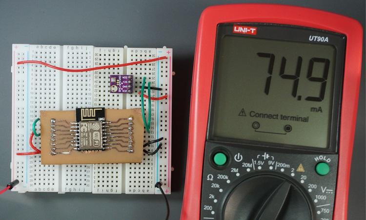 Low Power Weather Station Datalogger using ESP8266   Random